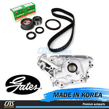 Gates Timing Belt Kit w/ Oil Pump for Elantra Tiburon Tucson Spectra Sportage