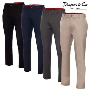 Dwyers & Co OMG 4-Way Stretch Men's Golf Trousers **ALL COLOURS** - NEW! 2021