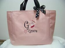 Dance Jazz Tap Ballet Tote Bag PERSONALIZED colors GIFT Birthday gift