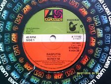 "BONEY M RASPUTIN 7"" SINGLE 1978 EXCELLENT"