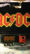 HOT WHEELS 1/64 POP CULTURE AC/DC HIWAY HAULER Real Riders NEW