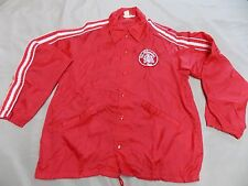 VTG Swingster OLD MILWAUKEE Beer Button up Jacket Nylon Coat Made in USA Large