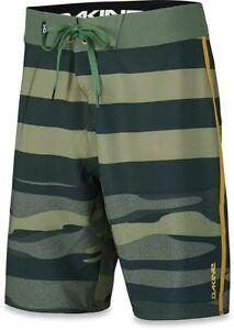 New Dakine Men's Youngblood Boardshorts Size 32 Field Camo Green Board Shorts