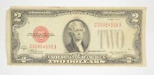 1928-D Red Seal $2 United States Note - Legal Tender - Historic *069