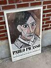 Pablo Picasso Poster Self Portrait Vintage Print 1980 Museum of Modern Art