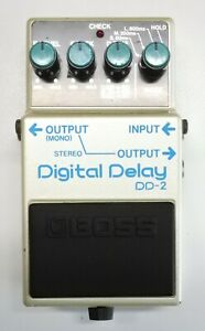 BOSS DD-2 Digital Delay Guitar Effects Pedal MIJ 1985 #167 DHL Express or EMS