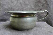 Nice Antique pewter chamber pot with pewter mark H.k. and H. Kamphof Zwolle