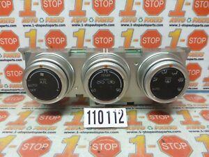 09-16 NISSAN 350Z A/C AC HEATER CLIMATE TEMPERATURE CONTROL 27500-1EA0A OEM