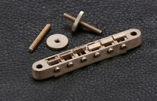 NEW Gotoh GE104B ABR-1 Style TOM Bridge for Gibson® Guitar - Aged Relic Nickel