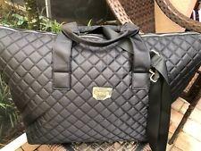 New! bebe Travel duffle bag Weekender  Color: Black