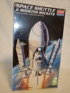 *NEW* SPACE SHUTTLE & BOOSTER ROCKETS Academy Hobby Model Kit #1639 1/288th Sc.