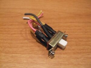 Ceiling Fan Reverse Switch Part Zing Ear Canal 6A 3A Slide Reversing Direction