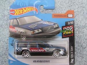 Hot Wheels 2020 #057/250 Volvo 850 Domaine Bleu Foncé Neuf Fonte 2020 @ Gh