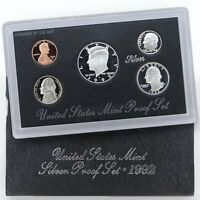 1992-S 90% Silver Proof Set United States Mint Original Government Packaging Box