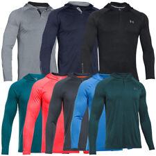 Under Armour Tech Popover Hoodie Kapuzen Pullover Henley Sweatshirt 1274511
