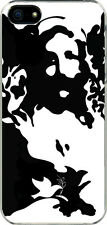 Black and White Jesus Face and Dove Christian Design iPhone 6 Slim Case Cover