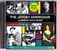 The Jewish Americans-A PBS TV Soundtrack CD NEW-David Grubin (Michael Bacon)
