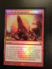 MTG MAGIC MIRRODIN BESIEGED RED SUN'S ZENITH (ZENITH DE ROUGESOLEIL) NM FOIL