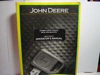 ORIGINAL JOHN DEERE 4210 4310 4410 UTILITY TRACTOR OPERATORS MANUAL OMLVU LIKE N