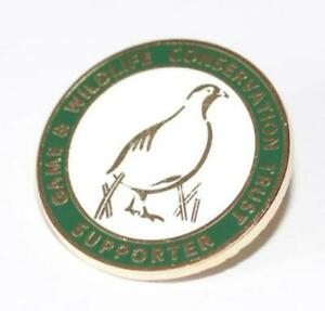 GWCT Supporters Badge - Game & Wildlife Conservation Trust