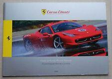 Mot moins Ferrari driving courses brochure missprint prospectus 4221/12 DEPLIANT Book