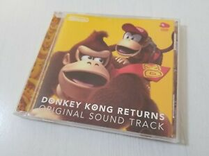 Club Nintendo Donkey Kong Returns Original Soundtrack CD Japan 0916A8