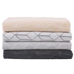 100% high quality cotton Jacquard bath towel rhombus patten