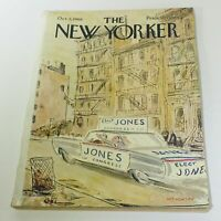 The New Yorker: October 5 1968 Full Magazine/Theme Cover James Stevenson