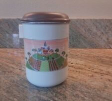 Villeroy & Boch ~ DESIGN NAIF ~ Canister Village Farm House People