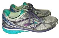 Brooks Ghost 7 Running Shoes Gray Teal Purple Women's Size 9.5 B MSRP $150