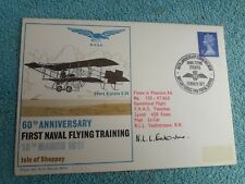 Enveloppe Premier Jour FDC 60th anniversary first naval flying training 1971