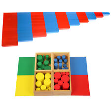 Wooden Cylinders Montessori Sensorial Materials + Math Material Kids Toys