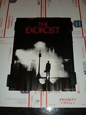 """THE EXORCIST Original 1974 Movie Poster, 17"""" x 22"""", C8 Very Fine Condition"""