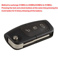 Keyless Remote Key Fob 3 Button 433MHz With Chip 4D63 For Ford Focus Monde US