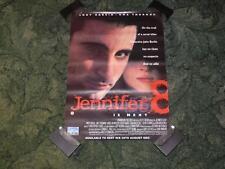 Original Video Store Promo Movie Poster ~ Jennifer 8 ~ Andy Garcia / Uma Thurman
