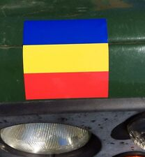 MILITARY LAND ROVER ARMY REME DECAL X2