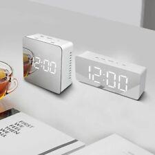 LED Table Lamps Bedroom Bedside Digital Electronic Alarm Clocks Home Decor Watch