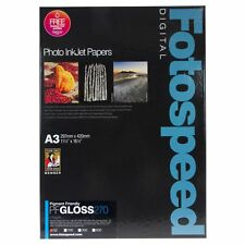 Fotospeed Pigment Friendly Gloss 270gsm Inkjet Photo Paper A3 50 Sheets