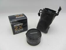 Quantaray Automatic 2x Tele Converter for AF Minolta Maxxum Mount Cameras/Lenses