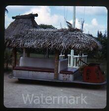 1960s Photo slide   Hawaii  Hawaiian vacation #11 Tiki mobile  cart