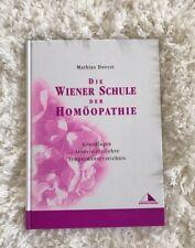Die Wiener Schule der Homöopathie von Mathias Dorcsi !!NEU!! Staufen-Pharma