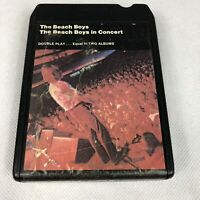 THE BEACH BOYS IN CONCERT VINTAGE RARE 8 TRACK TAPE