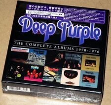 BRAND NEW Deep Purple Complete Album 1970-1976 10CD Box Set Factory Sealed
