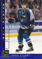 2001-02 BAP Memorabilia Sapphire Parallel Hockey Cards Pick From List