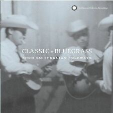 NEW Classic Bluegrass From Smithsonian Folkways (Audio CD)