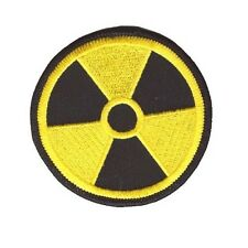 RADIATION PATCH YELLOW ON BLACK