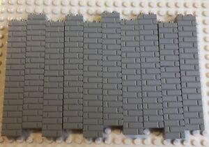 Lego 98283 Light Grey 1 x 2 Masonry Wall Bricks X100 pcs Brand New Castle