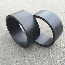 "Drift sleeves para drifttrike negro para 10"" y 11"" neumáticos Kart rutschies 120mm"