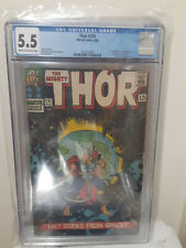 Thor #131 CGC 5.5 Marvel 1966 The First Appearance of the Rigellian Colonizers