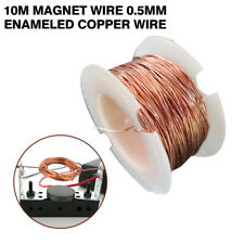 10m Magnet Wire 0.5mm Enameled Copper Wire Magnetic Coil Winding For Making NEW